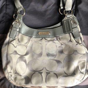 Coach Soho Signature Hobo Shoulder Handbag